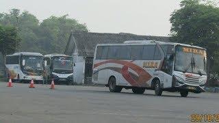 mobat mabit goyang kanan kiri bus Mira 7183