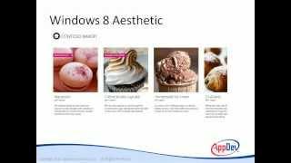 ux design for windows 8 applications aesthetics and design tutorial