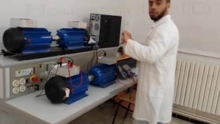 démarrage de génératrice MCC (serie) avec un moteur MCC (shunt)
