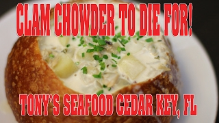 Repeat youtube video Tony's Seafood Cedar Key Florida Winter 2017