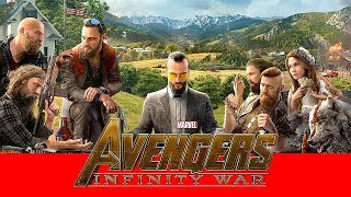 Far Cry 5 trailer in AVENGERS : INFINITY WAR Style