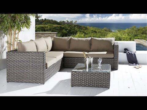 """Gartenmöbel aus Polyrattan - Gartenlounge """"Spanien"""", Sitzgruppe, Loungemöbel"""