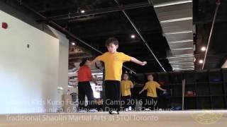 2016 Shaolin Martial Arts Kung Fu Kids Summer Camp Summary