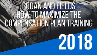 """Rodan and Fields Opportunity Training – How To Maximize the """"Rodan and Fields Compensation Plan"""""""