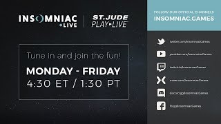 Insomniac PLAY LIVE - Benefiting St Jude - Ratchet & Clank
