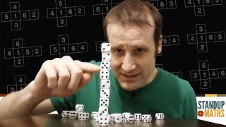 The Numbers in Dice Stacking and Balancing