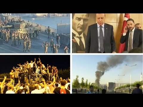 Turkey Coup Attempt: How The Night Unfolded