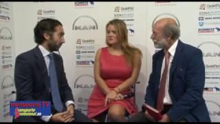 Joaquín del Moral entrevistado por Javier Baranda en el XVI Congreso de la CETM, Bilbao 2016