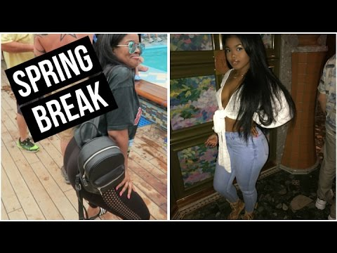 College Vlog | SPRING BREAK IN THE BAHAMAS 2017!!! pt 1.