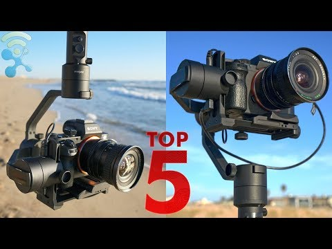 5 BEST Cheap Handheld Gimbal Stabilizer For DSLR's 2018 [Canon Nikon Sony Panasonic...]