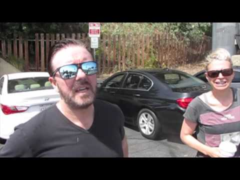 Ricky Gervais Talks About His Twitter Booty Shorts and Says He's
