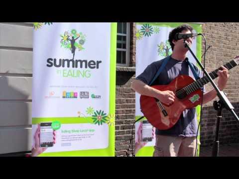 Ealing BID Live Music - Gideon Conn - 2012