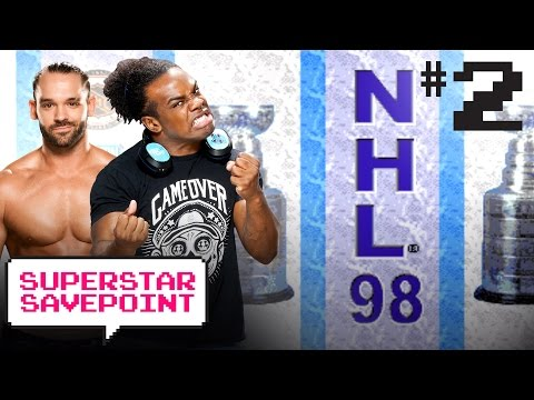Tye Dillinger Goes For TEN Goals Against Austin Creed In NHL 98! — Superstar Savepoint