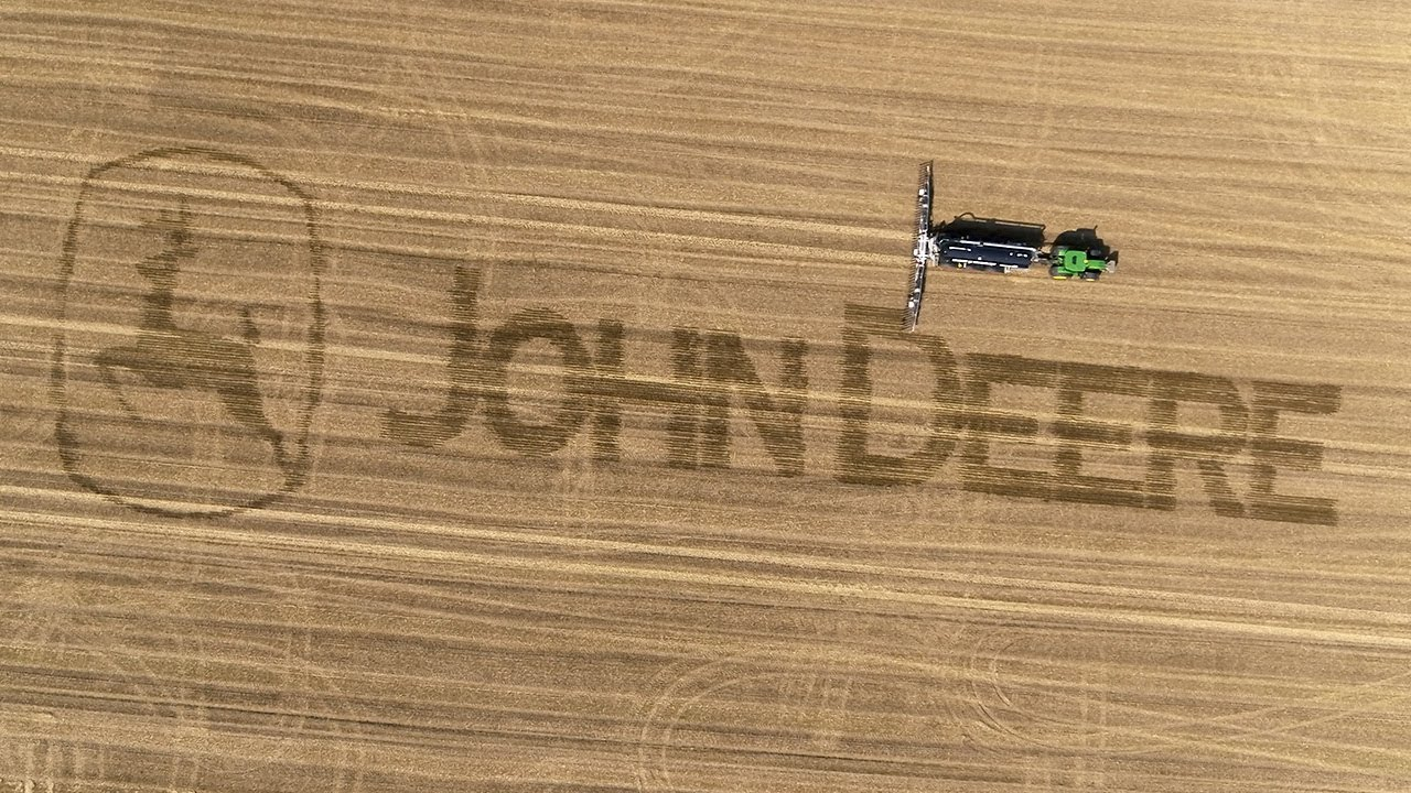 John Deere | High precision manure application with John Deere and Vogelsang