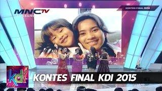 "Ikke Nurjannah "" Anaku "" Kontes Final KDI 2015 (8/5)"