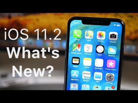 iOS 11.2 is Out! - What's New?