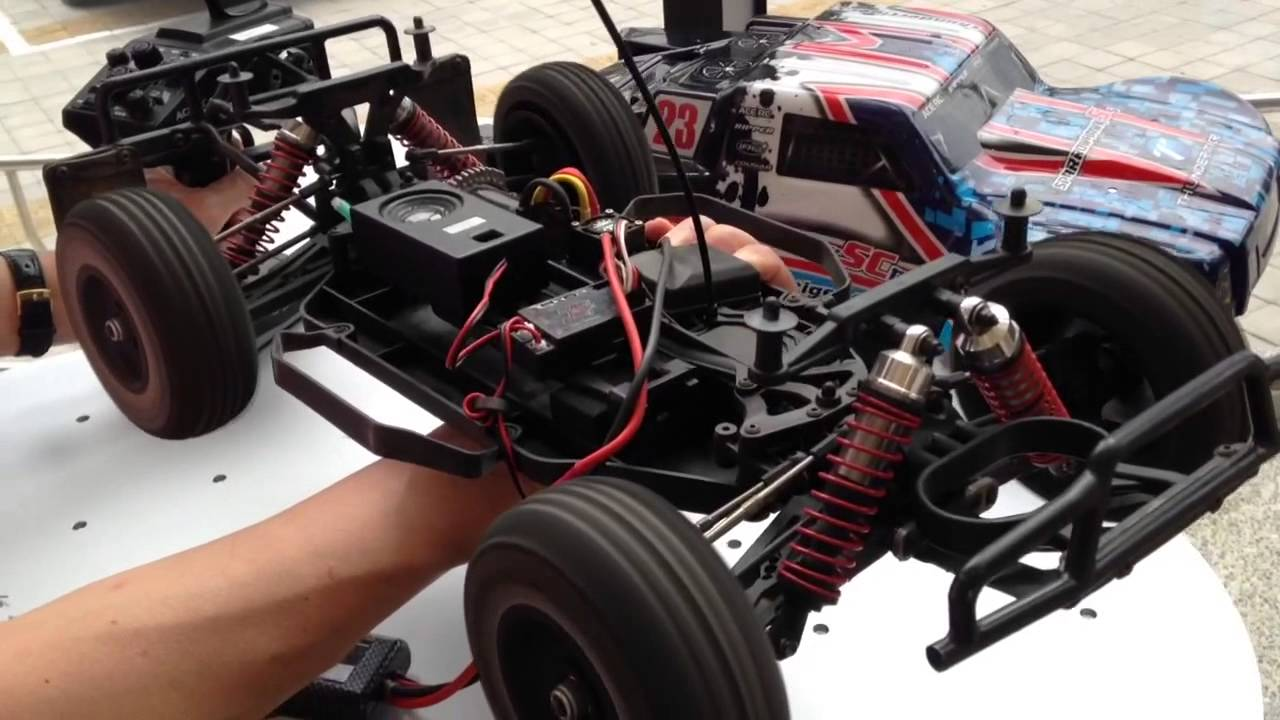 Electronic Engine Sound Real System For Rc Model Car