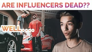 You Think Influencers Are REALLY Dead?? (Instagram, Shopify, DropShipping)
