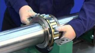 TEACHING VIDEO GUARANTEES 'RIGHT FIRST TIME' ASSEMBLY+DISASSEMBLY OF REVOLVO SPLIT ROLLER BEARINGS