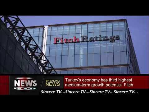 Turkey's economy has third highest medium-term growth potential: Fitch