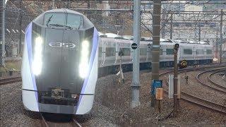 E353系S120+S209編成 J-TREC出場試運転