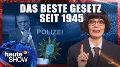Bayerns Polizeigesetz scheißt auf die Grundrechte (mit Martina Hill) | heute-show vom 06.04.2018