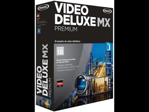 MAGIX Video deluxe MX Premium 18
