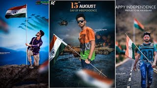 Indian Patriot Man || PicsArt 15th August editing || Happy Independence day editing ||
