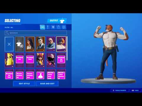 All New Battlepass Skins Showcase With All Different Styles / Variants - Fortnite Chapter 2 Season 2