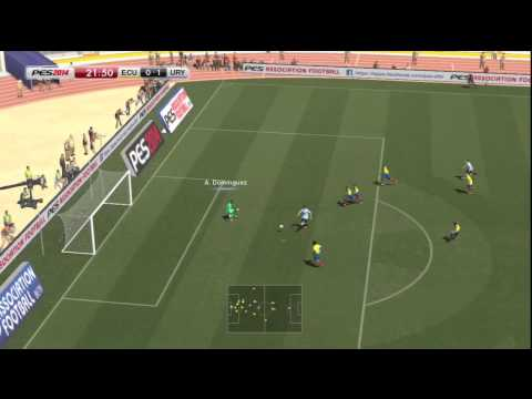 Ecuador vs Uruguay PES 2014  GAMEPLAY ps3 Videos De Viajes