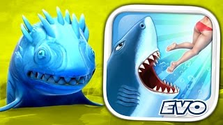 ICE SHARK - Hungry Shark Evolution - Part 12 (iPhone Gameplay Video)