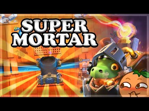 BEST Deck for Super Mortar Challenge | Win a Legendary!🍊