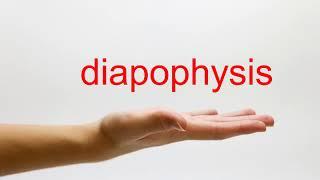 How to Pronounce diapophysis - American English