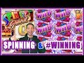 🌈SPINNING + #WINNING💰Live Play @ San Manuel Casino ✦ Slot Machine Pokies w Brian Christopher