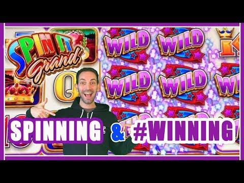🌈SPINNING + #WINNING💰 Play @ San Manuel Casino ✦ Slot Machine Pokies w Brian Christopher