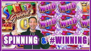 🌈SPINNING + #WINNING💰Live Play @ San Manuel Casino ✦ Slot Machine Pokies w Brian Christopher