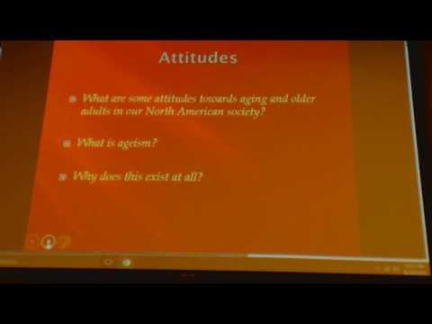 Ace2016 Gerontology class 1 lecture