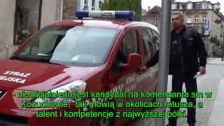 odc. 61 straż Biznesowa - Kożuchów. Śpiąca służba i wizyta Policji oraz mistrz parkowania
