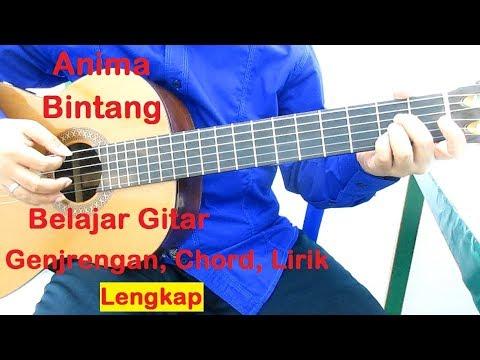 Belajar Gitar Anima Bintang (Genjrengan) - Belajar Genjrengan Buat Pemula