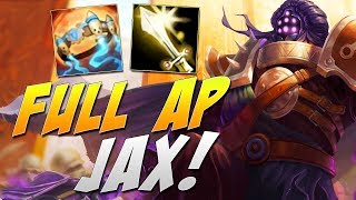 Magiczny JAX *nie klipbet* (League of Legends)