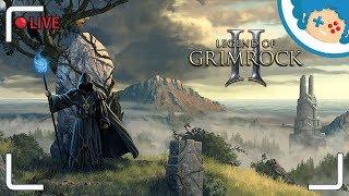 Legend of Grimrock 2 PL #8 - Zabawa w grabarza | Zapis LIVE