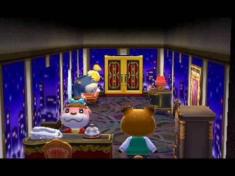 animal crossing happy home designer decorating the hotel youtube
