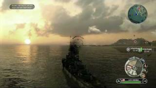 Battlestations Pacific video game demo walkthrough video