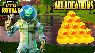 Fortnite Battle Royale: Search Rubber Duckies - All 10 Locations Found