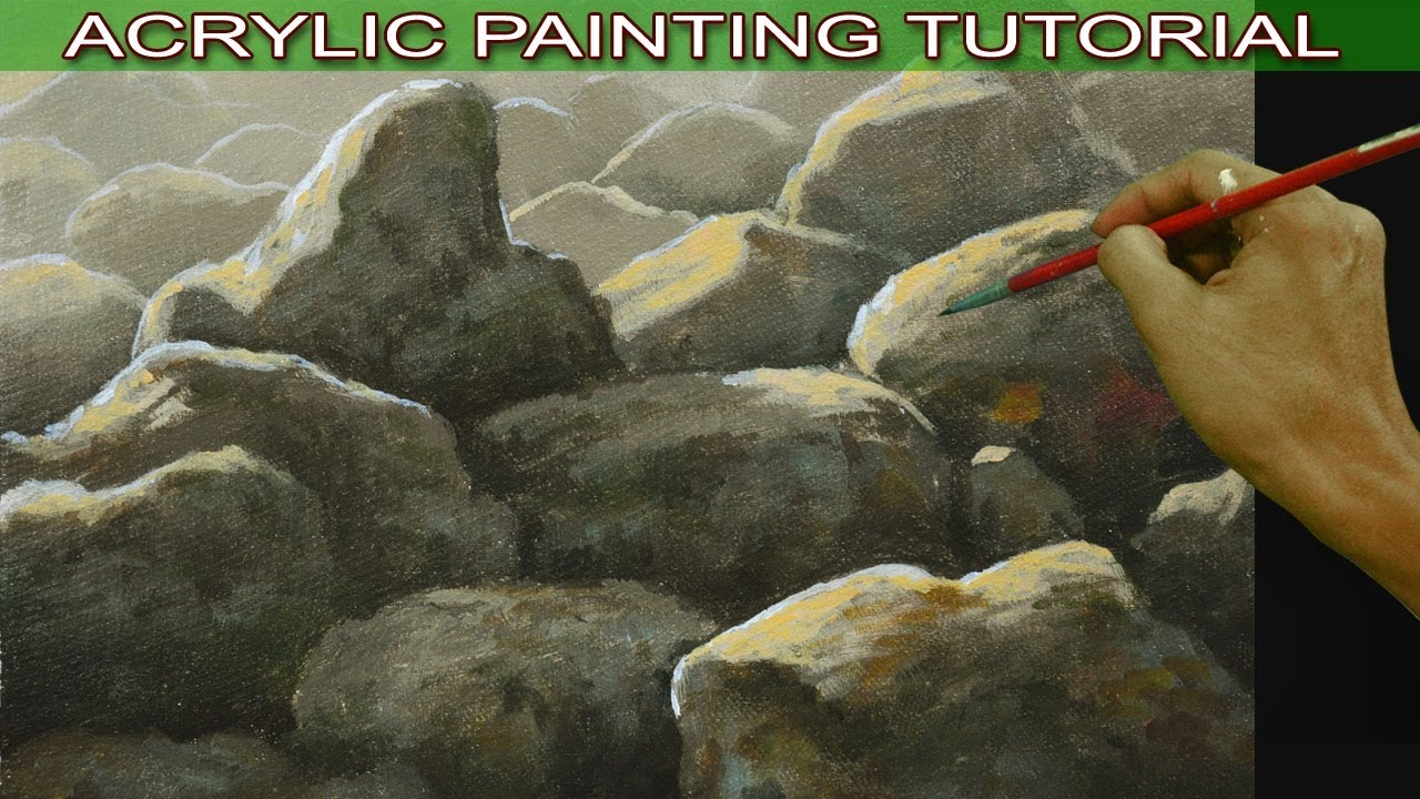 Acrylic Painting Tutorial On How To