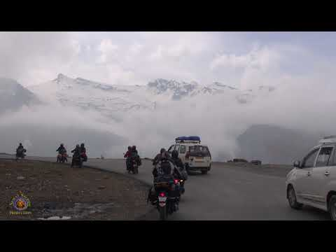 2016 Nrsimha & Friends Indian Cross Country Motorcycle Trip - Himalayan Mountains - Pt 3.