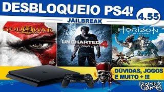 Desbloqueio PS4 Fat Slim Pro 4.55 Offline!!!