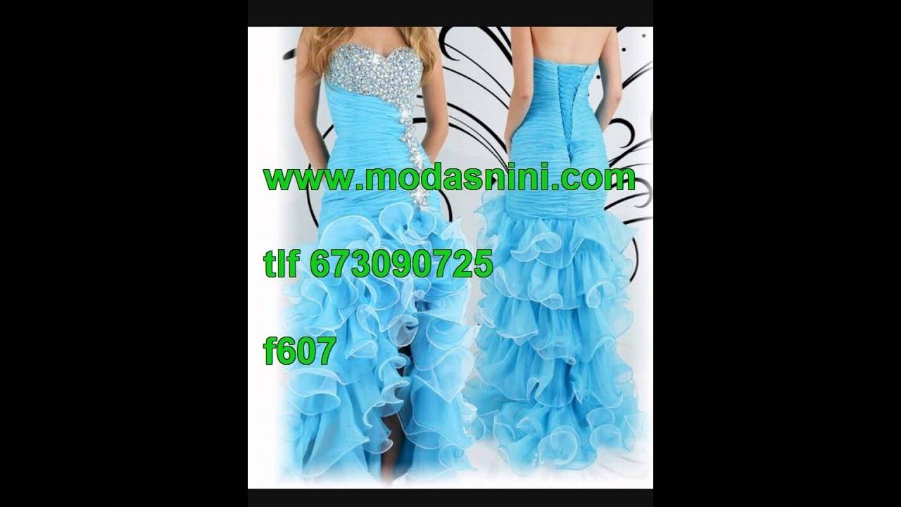 vestido de novia gitana modasnini - YouTube
