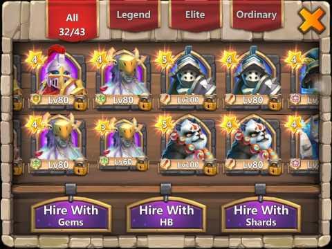 Castle Clash:Druid Hero Card