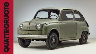 Fiat 600: in esclusiva il prototipo originale dell'auto del boom